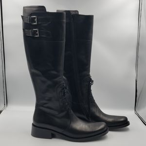 Goffredo Fantini Size 7.5 riding leather boots